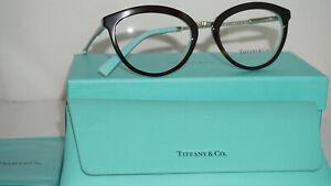 TIFFANY & CO. RX New Authentic Eyeglasses Havana Blue TF2173 8134 51 18 140