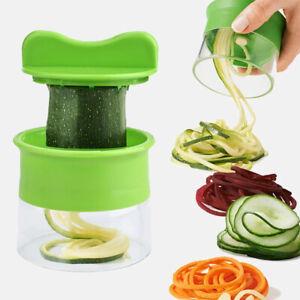 Vegetable Spiralizer Spiral Shredder Zucchini NEW Spirals Noodle Maker Spaghetti
