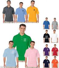 Gildan Polycotton Short Sleeve Personalised T-Shirts for Men