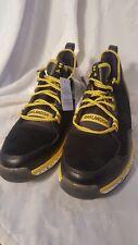 Mens Adidas size 15 Oaklandish Adiprene+ Black and Yellow Steelers Shoes F37635