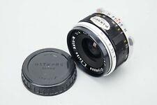 Olympus E.Zuiko Auto-W 25mm f/4 f4 Manual Focus MF Lens for Pen F