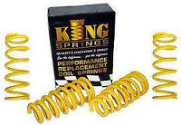 King Spring H/DUTY SPRINGS Kit Front + Rear Landcruiser 80 Series 9/1991-1998