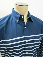 J.Crew Slim Fit Oxford Navy Striped Button Down Casual Shirt Medium M