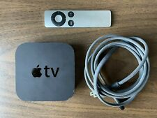 Used Apple TV (3rd Generation) With Remote - HD Digital - Fully Functional