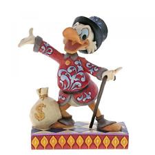 NEW Disney Traditions Treasure Seeking Tycoon Scrooge  Figurine 6001285