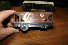 Marx Trains 027 Scale cars , 18326 caboose NYC and marx frame and wheels