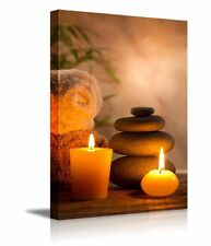 "Canvas Prints - Spa Still Life with Aromatic Candles- 16"" x 24"""