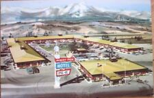 1960s Advertising Postcard: Albert Pick Motel - Colorado Springs, CO