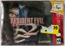 RESIDENT EVIL 2 - Nintendo 64 N64 (1999) ORIGINAL SHRINKWRAP *BRAND NEW SEALED*