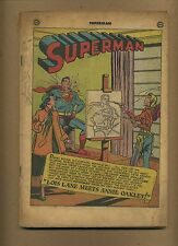 Superman 70 Coverless and miss. 4 pages! (PG-GD $100) Solid! DC, 1951 (c#00567)
