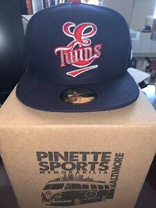 Elizabethton Twins MiLB New Era Diamond 59Fifty Cap Hat Mens Minnesota Sz 7 1/4