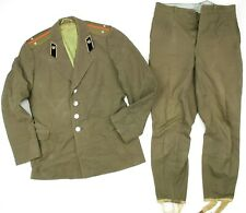 GENUINE RUSSIAN ARMY OFFICERS UNIFORM USED JACKET & TROUSERS (NO4)