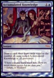 Accumulated Knowledge - Foil FNM 2004 x1 - FNM Promos - Light Play, English - FN