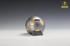 Pokal Fußball-Spardose Pokale Fussball als Deko, Geschenk Pokal