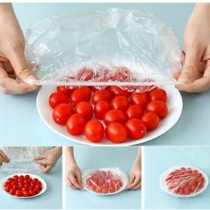 100Pcs Dustproof Disposable Bowl Cover Food Fresh Keeping Vacuum Sealed-Bags