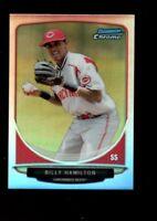 BILLY HAMILTON REDS MINT REFRACTOR ROOKIE  RC SP 2013 BOWMAN CHROME MINI GEM 1A