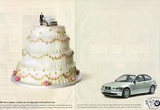 Publicité advertising 2001 (2 pages) BMW 316ti 325 ti