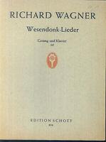 Richard Wagner ~ Wesendonk-Lieder für Klavier und tiefe Stimme