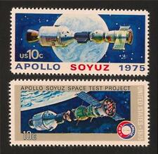 1975 Apollo Soyuz Space Test Project Spacecraft Linkup Commemorative Stamps MINT