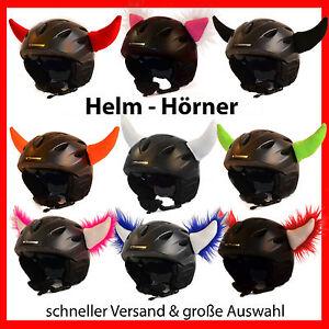 Helmhörner /Ohren / Helmohren Deko f. Helm / Skihelm/ Snowboardhelm Farbauswahl
