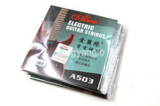 10 Pack A503L/010 Electric Guitar Strings 1st E-1 Single Plated Steel Strings
