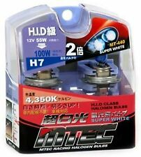 MTEC H7 12v 55w Super White Xenon Class Upgrade Bulbs