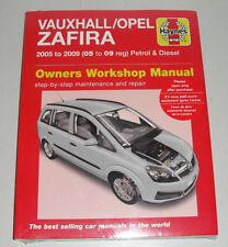 Reparaturanleitung Opel / Vauxhall Zafira B, Baujahre 2005 - 2009