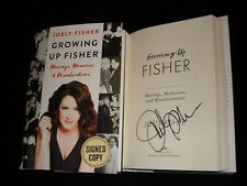 Joely Fisher signed Growing up Fisher 1st printing hardcover book
