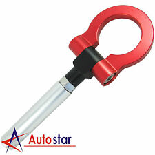 New Red Folding Ring Screw On Front/Rear Bumper Tow Hook For Nissan 350Z 370Z