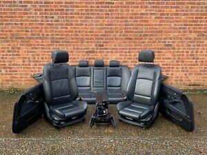 BMW 5 SERIES F10 PRE LCI M SPORT HALF ELECTRIC HEATED SEATS SET OEM
