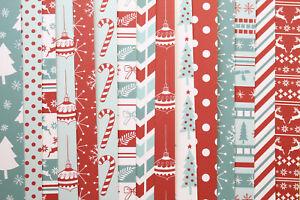 Nordic Christmas Card Stock 250gsm printed cartoon deco pattern xmas paper craft