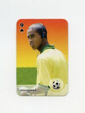 #JB47 RONALDINHO Brazil Soccer Russian 1999 ROOKIE CARD #9S