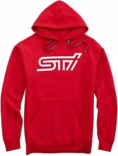 🔥 NEW SUBARU STI Hoodie RED USA Official Genuine Merchandise LARGE! SHIPPED! 🔥