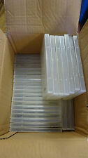 LOT of 25 Nexpak SecureCase DVD Sleeveless Security Cases w/ Blue Locking Clips