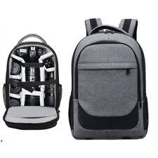 Waterproof Camera Backpack Travel Bag Insert 14'' Laptop For DSLR Canon Nikon
