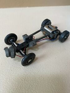 VINTAGE COX 1/24 SCALE SLOT CAR CHASSIS & MOTOR RARE