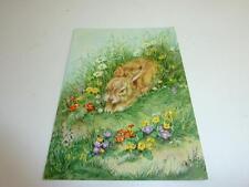 "vintage blank greeting cards  ARS SACRA ""eastern rabbit""  ""153"""