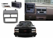 Dash Radio Install Kit With Cubby & Wiring For 1988-1994 Chevrolet GMC Trucks