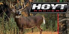 HOYT Archery Bow Shop Bow Hunting Cabin Camp Vinyl Banner Wall Sign 2x4'