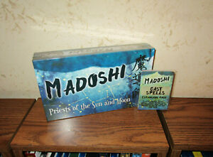DPH Games- Madoshi: Priests of the Sun and Moon Game w/ Expansion Pack