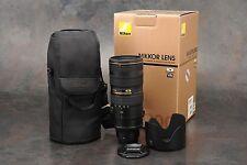 :Nikon AF-S Nikkor 70-200mm F2.8G ED VR II Zoom Lens Boxed - Focus Squeal
