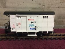 LGB 4032 NESTLE PETER CAILLIERS KOHLER BOX CAR - G SCALE - (B)