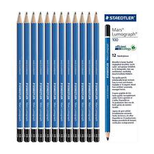STAEDTLER Mars lumograph 100 Premium pencils for drawing Degrees: 8B to 6H
