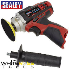 Sealey Cordless Polisher Buffer 12V 71mm Variable Speed Li-ion Body Only
