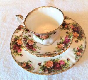 Royal Albert Kaffeegedeck Kaffee Gedeck Old Country Roses Porzellan Mit Goldrand