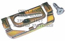 FITS CHEVY NOVA 1966 - 1967 REAR GLASS REVEAL CLIPS  25