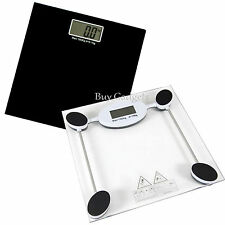 180KG DIGITAL ELECTRONIC GLASS LCD WEIGHING BODY SCALES BATHROOM HELPS LOSE FAT