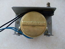 Budweiser Revolving Pocket Watch Clock Gear Works Synchron Motor Hand Movement
