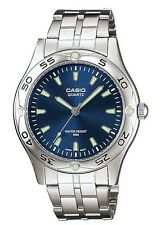 Casio MTP1243D-2AV Men's Stainless Steel Blue Dial Casual Analog Sports Watch