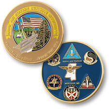 Naval Air Station Meridian Challenge Coin NAS Mississippi MS USN Navy Squadrons